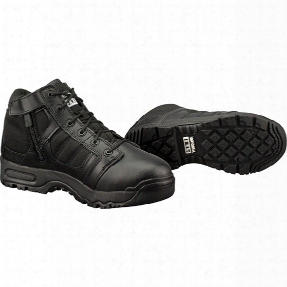 "Original S.w.a.t. 5"" Side Zip Boot, Black, 10 - Metallic - Male - Included"