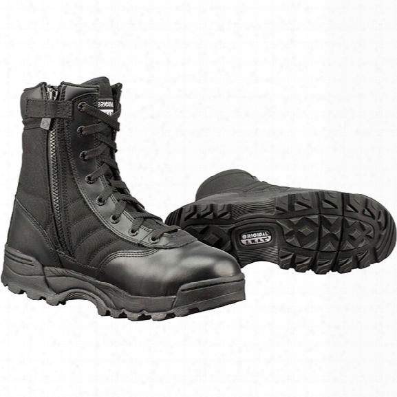 "Original S.w.a.t. 9"" Classic Side-zip Boots, Men's, Black, 10.5, Medium - Carbon - Male  - Included"