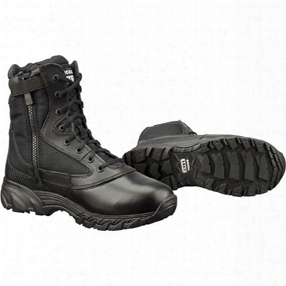 """Original S.w.a.t. Chase 9"""" Tactical Boot, Black, 10.5r, Side Zip - Black - Male - Included"""