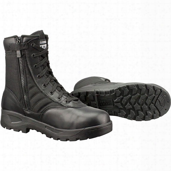 "Primitive S.w.a.t. Classic 9"" Side Zip Safety Toe Boot, Black, 10.5 - Brass - Male - Included"