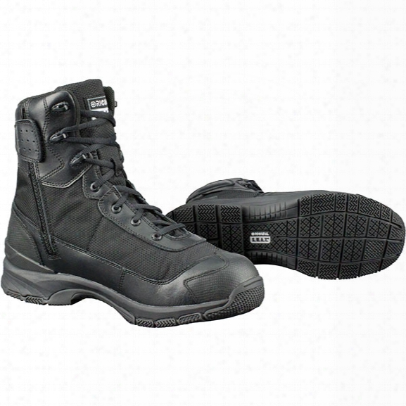 "Original S.w.a.t. Hawk 9"" Side-zip Boot, Black, 10.5 Medium - Black - Male - Included"
