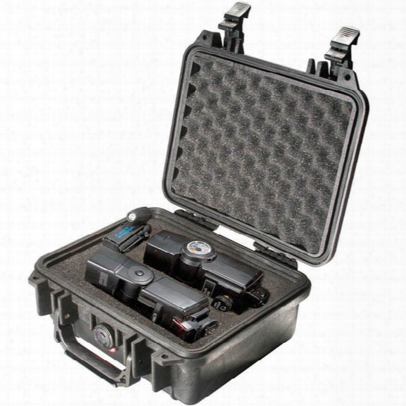 Pelican #1200 Case, Black - Black - Male - Included