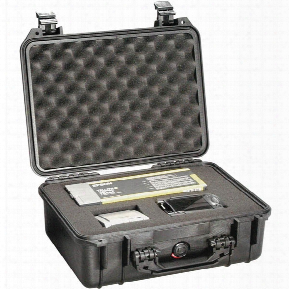 Pelican #1450 Case, Black - Black - Male - Included