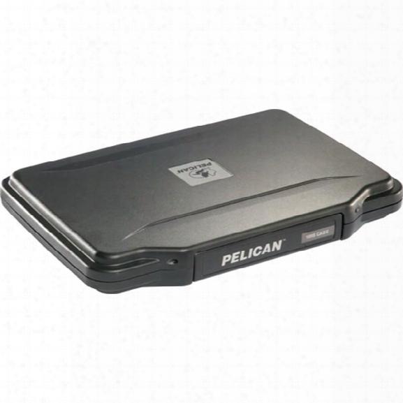 "Pelican Hardback Case W/liner, 1055cc For E-readers & 7"" Tablets, Black - Black - Male - Included"