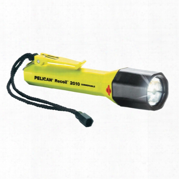 Pelican Saberlote 2010 Recoil Led Flashlight, Yellow - White - Unisex - Included