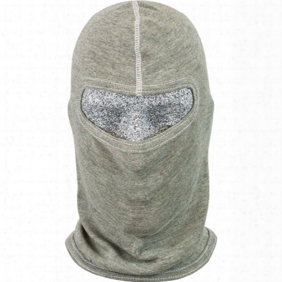 Pgi Cobra S.w.a.t. Tactical Fire Hood, Single Ply, Small Face Opening, Para-tek Fr Tri-blend, Heather Gray - Gray - Male - Included
