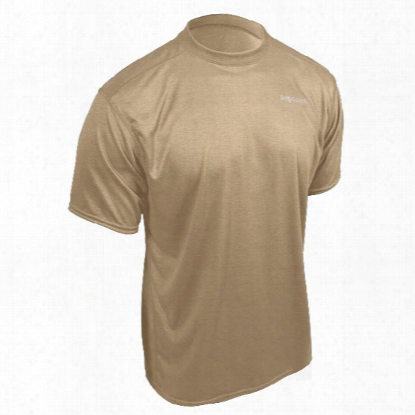 Pgi Driguard Fr Pro Baselayer Short Sleeve Tee, Crewneck, Tan, 2xl - Tan - Male - Included