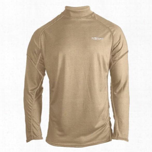 Pgi Driguard Pro Fr Baselayer Long Sleeve Tee, Mock Turtleneck, Tan, 2xl - Tan - Male - Included