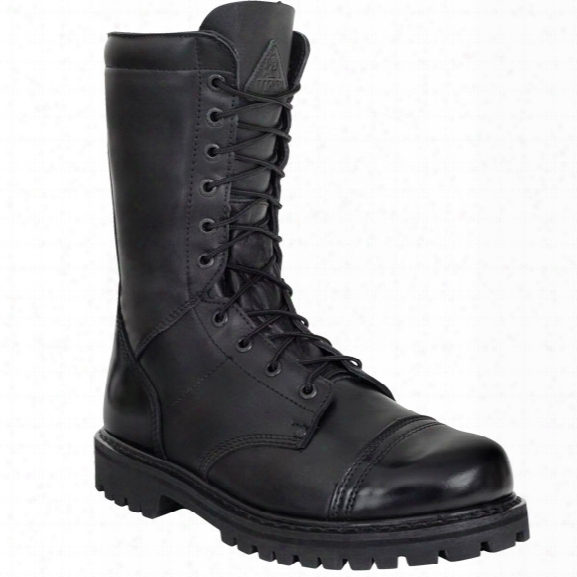 "Rocky 10"" Waterproof Jump Boot, Black, 10.5m, Side Zip - Metallic - Male - Included"