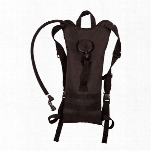 Rothco 3-lirer Backstrap Molle Hydration System, Black - Black - Unisex - Included