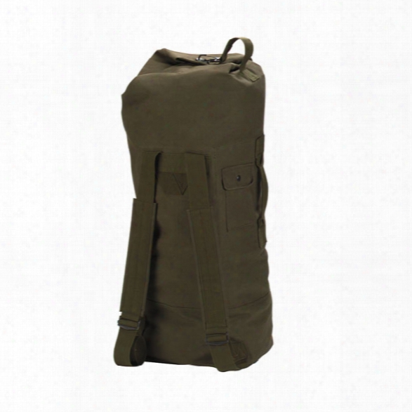 Rothco Double-strap G.i.-style Duffle Bag, Olived Rab - Green - Unisex - Included