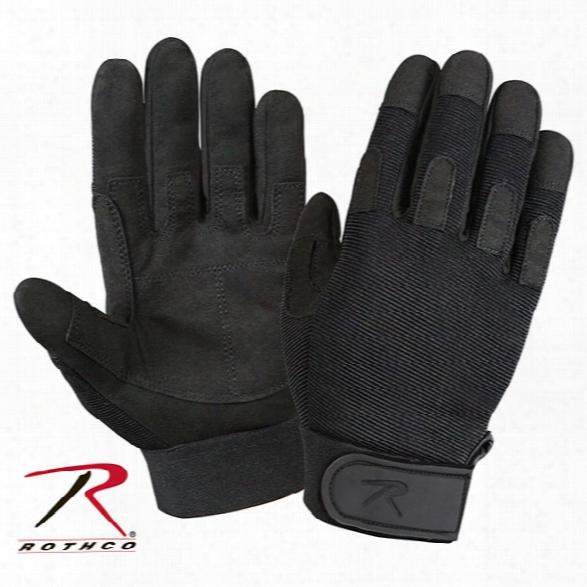 Rothco Lightweight All Purpose Duty Glove, Black, 2x-large - Black - Unisex - Included