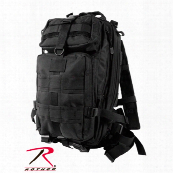 Rothco Medium Transport Pack, Black - Black - Male - Included