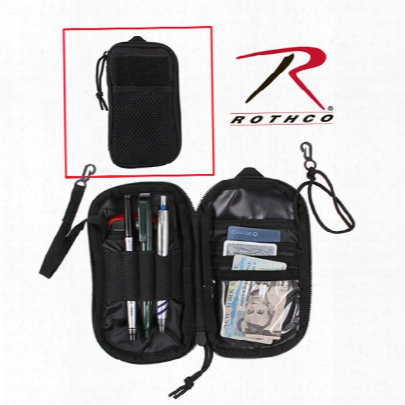 Rothco Tactical Wallet, Black - Black - Male - Included