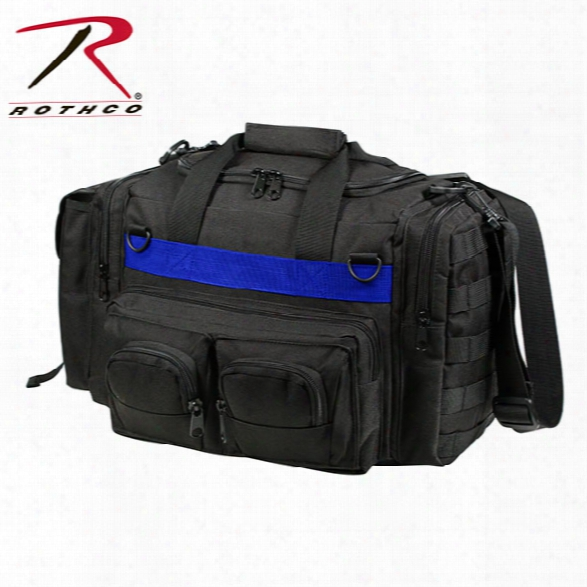 Rothco Thin Blue Line Black Concealed Carry Bag - Blue - Male - Included