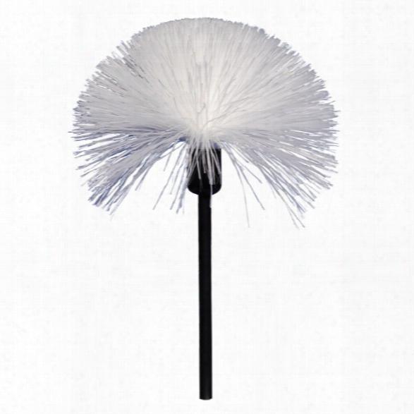 Sirchie Standard Fiberglass Brush With Plastic Handle - Black - Male - Included