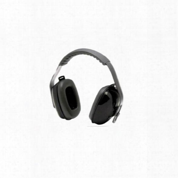 Sperian T2 Thunder Earmuff, Black - Black - Male - Included