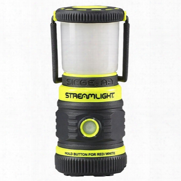 Streamlight Siege Aa W/ Magnetic Base, Ultra-compact, Alkaline Work Lantern, Yellow - White - Male - Included