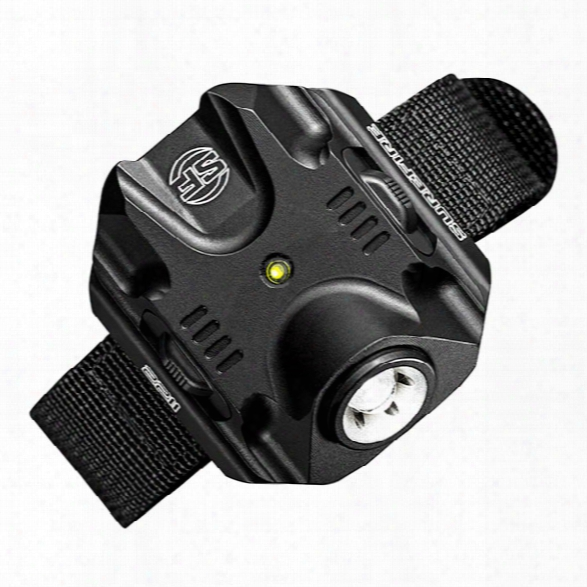 Surefire 2211 Compact Wristlight, 300/60/15 Lu, Rechargeable, Black Polymer - Black - Male - Included