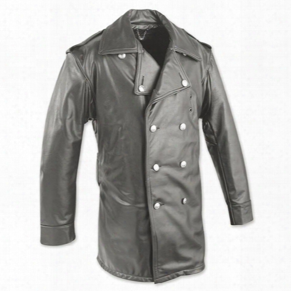 Taylors Leatherwear Nypd Leather Jacket, Black, 2x Long - Black - Male - Included