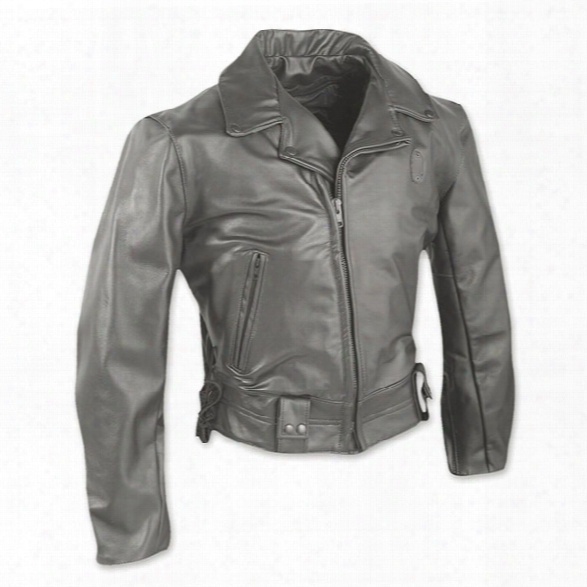 Taylors Leatherwear Phoenix Leather J Acket, Black, 2x Long - Black - Male - Included