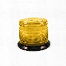 SoundOff Signal 3000 Series Strobe Beacon, 4In Dome, Amber - Orange - male - Included
