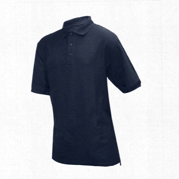 Tru-spec 24-7 Classic Polo, Navy, 2xl - Black - Male - Included