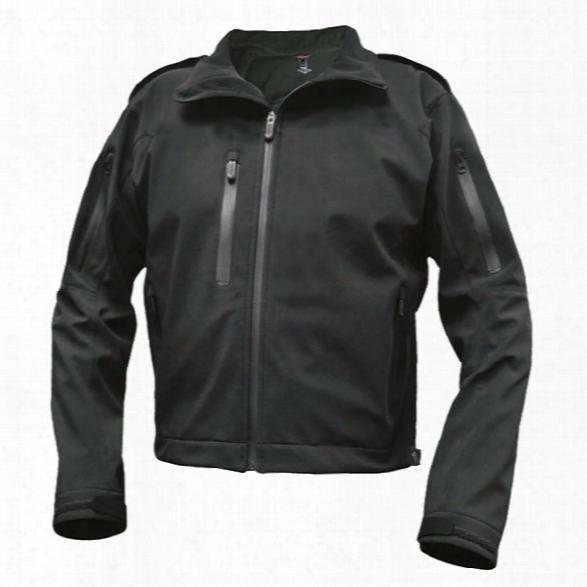 Tru-spec 24-7 Le Softshell Jacket Regular, Blacck, 2xl - Black - Male - Included