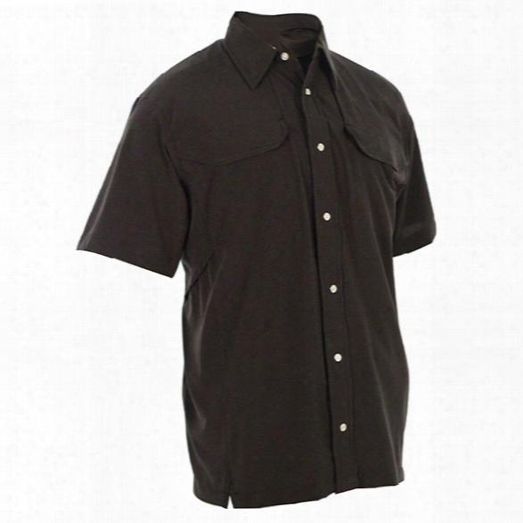 Tru-spec 24-7 Series Cool Camp Shirt, Black, 2x-large - Black - Male - Included