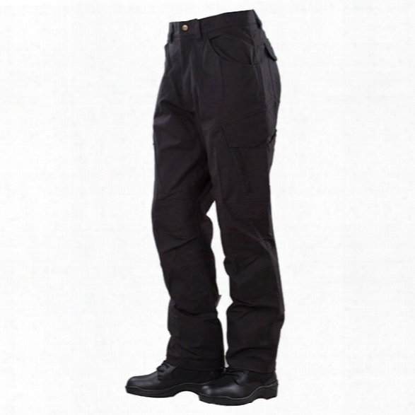 Tru-spec 24-7 Series Delta Pants, Black, 28x30 - Brass - Male - Included