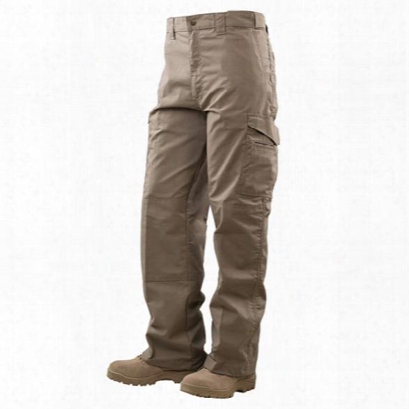 Tru-spec 24-7 Series Tactical Boor Cut Trousers, Black, 28 30 - Brass - Male - Included