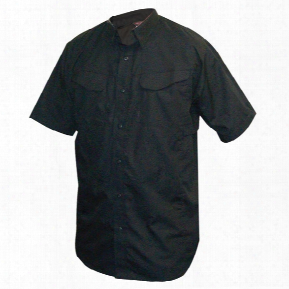 Tru-spec 24-7 Ultralight Ss Field Shirt, Black, 2x - Black - Male - Included