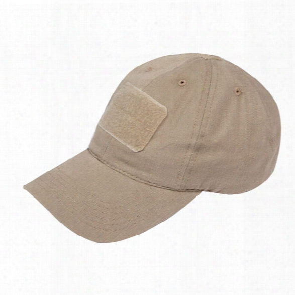 Tru-spec Adjustable Contractor Cap, Cotton Twill, Khaki, Osfm - Khaki - Male - Included