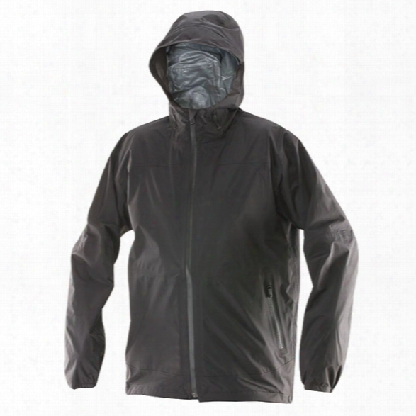 Tru-spec All Season Rain Jacket, Black, 2x-large Regular - Black - Male - Included