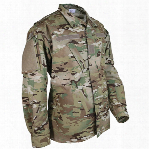 Tru-spec Army Combat Uniform Shirt, Multicam, 2x-large Long - Camouflage - Male - Included