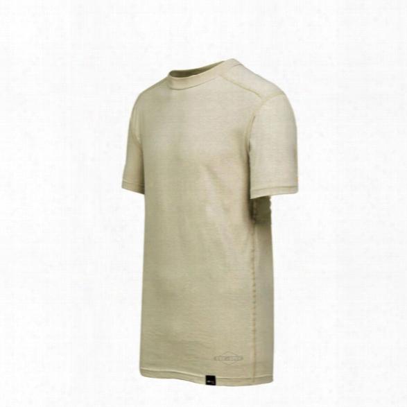 Tru-spec Baselayer Ss Crew Shirt, Black, 2xl - Black - Male - Included