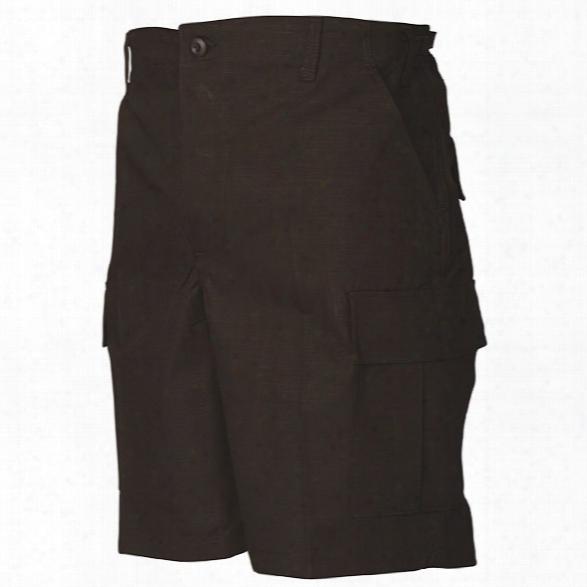 Tru-spec Bdu Shorts, Black, 2x-large - Black - Male - Included