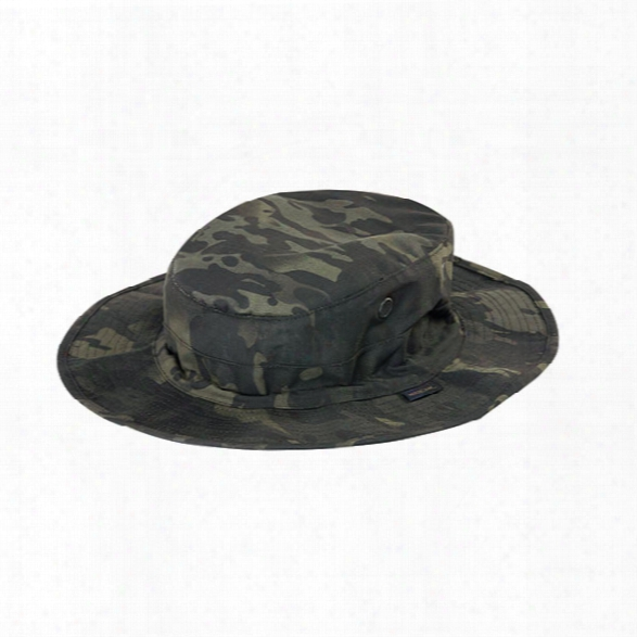 Tru-spec Boonie Military Hat, Multicam Black, 6 3/4 - Brass - Male - Included