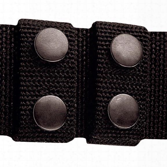 Tru-spec Duty Belt Keepers, Black - Brass - Unisex - Included