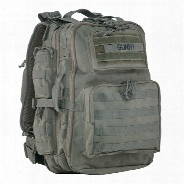 Tru-spec Gunny Tour Of Duty Backpack, Olive Drab - Green - Male - Included