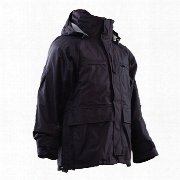 Tru-spec H2o Proof Parka, Black, 2xln - Black - Male - Included