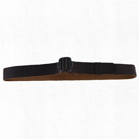 Tru-spec Security Friendly Reversible Belt, Black-coyote, 2x-large - Metallic - Male - Included