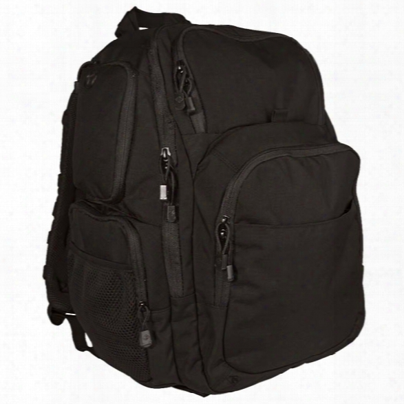 Tru-spec Stealth Xl Backpack, Black - Black - Male - Included