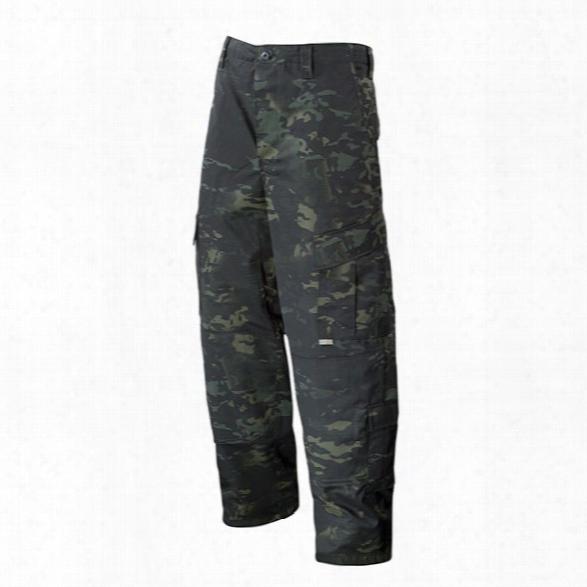 Tru-spec Tactical Response Uniform Pants, Multicam Black, 2x-large Long - Black - Male - Included
