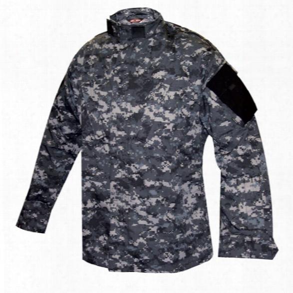 Tru-spec Tru Shirt P/c R/s Woodland Digital 2xlarge Regular - Camouflage - Male - Incluedd