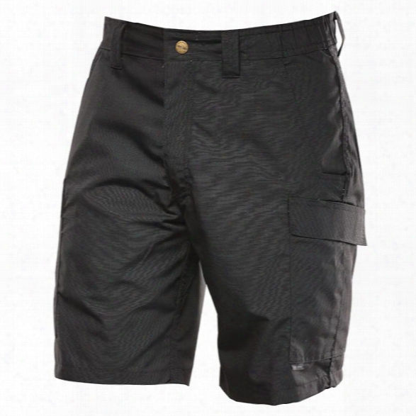 "Tru-spec Tru St 9"" Shorts, Cargo Pkt, Black, 28 - Black - Male - Included"