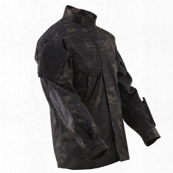 Tru-spec Tru Xtreme Cordura Shirt, Ripstop, Multicam Black, 2x Long - Black - Male - Included