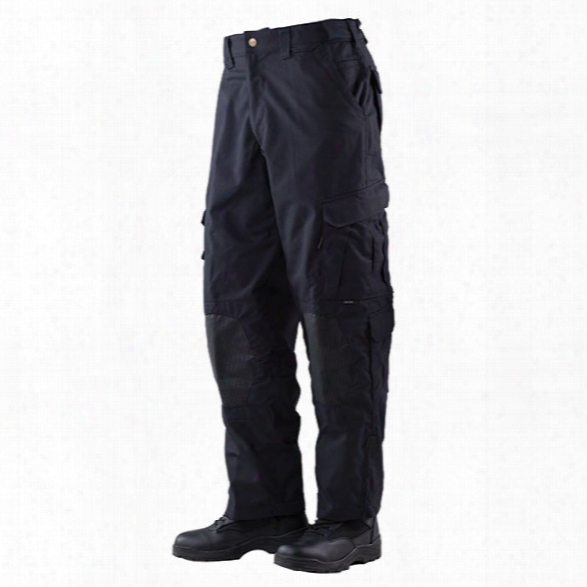Tru-spec Tru Xtreme Tactical Pants, Black, Medium Long - Brass - Male - Included