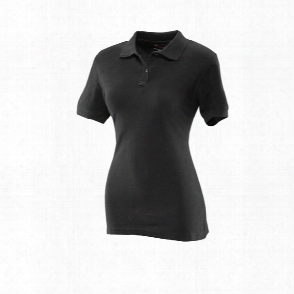Tru-spec Womens 24-7 Classic Polo, Navy, 2xl - Blue - Male - Included