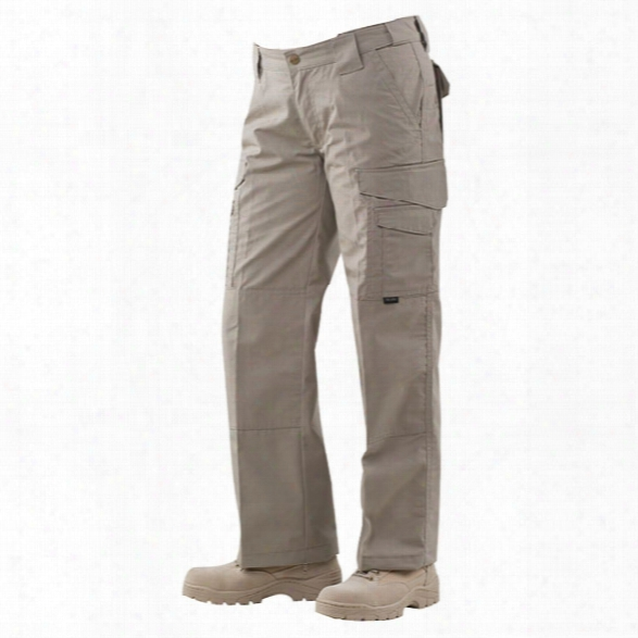 Tru-spec Womens 24-7 Tactical Pant, Poly/ctn Ripstop, Khaki, 0 - Black - Male - Included